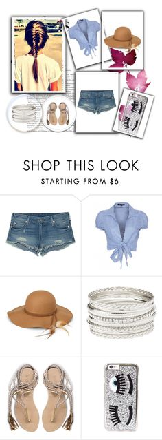 """""""A day on Vacation"""" by m-d-cardin ❤ liked on Polyvore featuring True Religion, QED London, Steve Madden, Charlotte Russe, L*Space and Chiara Ferragni"""