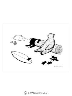 """After Surf Art Print. Gallery quality Giclee print on natural white, matte, ultra smooth, 100% cotton rag, acid and lignin free archival paper using Epson K3 archival inks. Custom trimmed with 1"""" bord"""