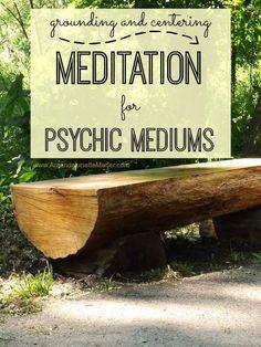 grounding meditation for psychic development -