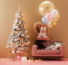#wehkamp #kerst #kerstboom #torino #loveseat #party #decoratie #glitter #glamour