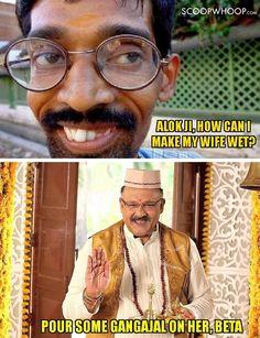These Sexy-Sanskaari Memes Perfectly Explain Alok Nath's Shift From Babuji To Sex Chat Show Host