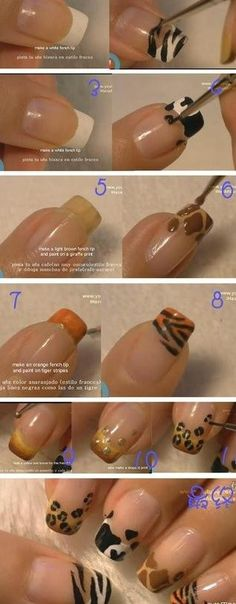 Nothing like a great animal print on the nails