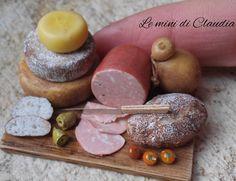 "402 Likes, 12 Comments - Le Mini Di Claudia (@leminidiclaudia) on Instagram: ""Mortadella  #dollhouseminiatures #miniaturefood #leminidiclaudia"""