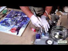 ▶ Andy Braitman Encaustics Painting Part 4 - YouTube