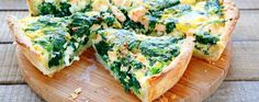 The ultimate spinach and salmon quiche Salmon Quiche, Spinach Quiche, Spinach Tart, Ham Quiche, Baby Spinach, Low Carb Recipes, Cooking Recipes, Healthy Recipes, Easy Meal Prep
