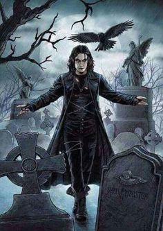 Dark Fantasy Art, Dark Art, Dark Gothic Art, Gothic Artwork, Crow Movie, I Movie, Dragons, Crow Art, Arte Dc Comics
