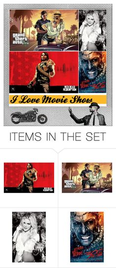 """""""Rise Of An Empire Movie Poster Decor"""" by posters-print on Polyvore featuring art"""