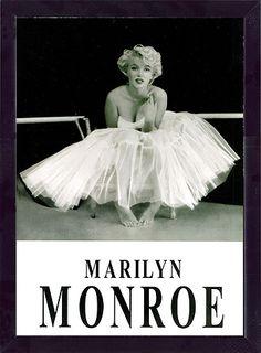 フレーム ポスター 『マリリン・モンロー (チュチュ)』 約A3サイズ
