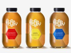 Look closely. Such clever graphics on this #honey #packaging PD