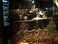 """Bow of a boat from the """"Deido School of Art"""" (Cameroon - Douala) at Quai Branly Museum, Paris in www.AwayFromAfrica.com"""