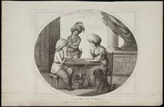 A game at chess [graphic] / Mr. Bunbury del. ; Js. Bretherton fec. Creator: Bretherton, James, active 1770-1781, printmaker. Published/Created: [London] : Publish'd 1st March 1780 by J. Bretherton, New Bond Street, [1 Mar. 1780] Physical Description: 1 print on laid paper : etching and drypoint ; oval image 29.7 x 35.1 cm, on plate 33.9 x 37.3 cm, on sheet 36 x 55 cm.