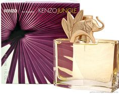 Kenzo-Elephant.  I am going to be honest with you, I am mostly enamored with the bottle.