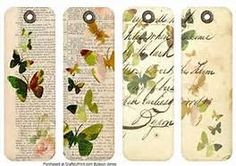 Printable Butterfly Bookmark - Bing images