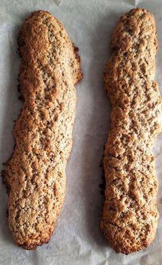 Italian Fig Cookies, Italian Cookie Recipes, Italian Pastries, Italian Desserts, Biscotti Cookies, Biscotti Recipe, Yummy Cookies, Burritos, Italian Biscuits