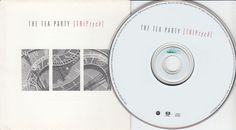 THE TEA PARTY Triptych (CD 1999) Canada Rock Band 12 Songs Jewel Case #Industrial
