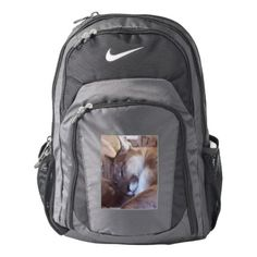 Mountain Lion Big Cat Cougar Animal Kitty Kitten Nike Backpack - animal gift ideas animals and pets diy customize