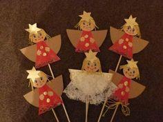 Christmas Crafts For Kids To Make, Christmas Activities For Kids, Preschool Christmas, Christmas Paper, Christmas Angels, Kids Christmas, Angel Crafts, Christmas Decorations, Christmas Ornaments