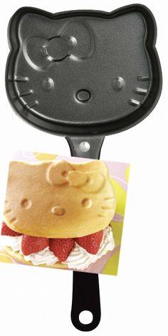 hello kitty pancake mold