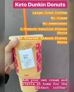 is a great coffee to get when on the go! Keto coffee at Dunkin Donuts. is a great coffee to get when on the go! Keto coffee at Dunkin Donuts.
