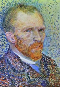 Self-portrait, 1887 by Vincent van Gogh. Post-Impressionism. self-portrait