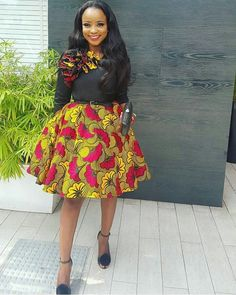 Fashionable, Stylish, and Exquisite Ankara Styles! Checkout How Fashionistas Are Rocking Their Amazing Pieces - Wedding Digest Naija African Fashion Ankara, Latest African Fashion Dresses, African Dresses For Women, African Print Dresses, African Print Fashion, African Attire, African Wear, African Prints, African Style