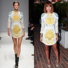 Balmain's Ruling the Runway and the Red Carpet, One Chic Checkerboard at a Time: Nicole Richie