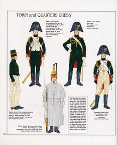 French; Imperial Guard, Dragoon(The Empress' Dragoons) Regt, Dragoons, Town & Quarters Dress