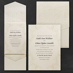 Baroque Brilliance Wedding Invitation  |   40% OFF  |   http://mediaplus.carlsoncraft.com/Wedding/Wedding-Invitations/3150-FVN9873-Baroque-Brilliance--Invitation.pro