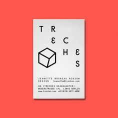 Treches combines clean lines with playful details and contrasting colors. The basic motive of their collections is finding an aesthetic bal...