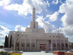 Madrid Spain LDS (Mormon) Temple  We love Temples at: www.MormonFavorites.com  #LDS #Mormon #LDSquotes
