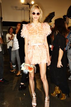 Fendi SS15 Fashion Show Milan Backstage | Sonny Vandevelde