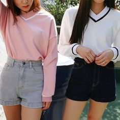 Image about girl in Ulzzang 얼짱 by no face on We Heart It K Fashion, Cute Fashion, Asian Fashion, Fashion Outfits, Ulzzang Fashion, Japanese Fashion, Looks Instagram, Grunge, Korean Outfits