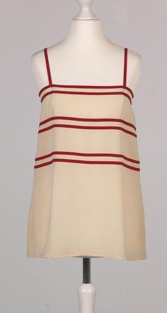 Chanel Auktion Lot 58: Chanel Top, Seide, Größe ca. 36/38