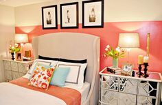 summer color bedroom stripes What You Can Learn By Adding Home Interior Summer Colors
