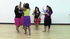 HOT HULA fitness Dance Workout - Week 2 - Part 1 youtube video 12 mins