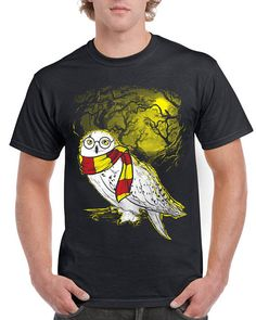 Unisex T-shirt..Harry Potter Hedwig..#ad #harrypotter #tshirt