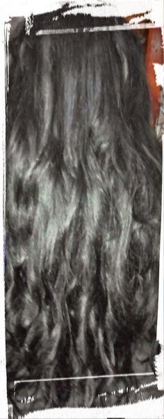 Tape Inn Hair European Cuticle Remy #1 black 24 inch length 160 grams