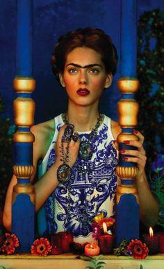 Just Cavalli Frida Kahlo inspired