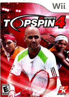 TOP SPIN 4 TENNIS (WII, NTSC), Juegos Educativos, Material Didáctico, Videojuegos y más