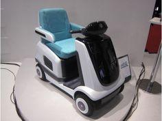 Suzuki MIO fuel cell powered wheelchair on display