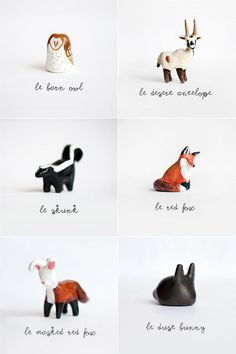 Le Animalé: Animal Totems :: I think I've pinned these before.