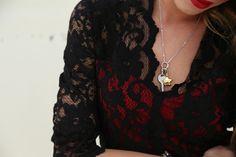 @chiaranasti #ChiaraNasti #NastiLove con #Sagapo #fashion #blogger #outfit #necklace #charms #happy #collection