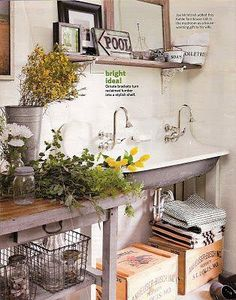 Great Sink for a Potting Shed