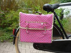 """Fahrradtasche+""""Timon""""  Eine+Aufbewahrung+für+alle+stylischen+Radler,+oder+die,+die+es+werden+wollen. Du+willst+deine+Einkäufe+verstauen?+Deine+U..."""