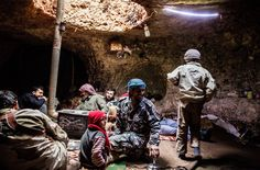 Syria - The caves of bygone times have become essential once more