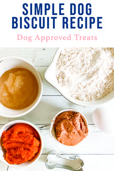 Treat your fur babies with the best homemade dog treats around with this easy recipe from Everyday Party Magazine #DogFoodRecipe #HomemadeDogTreats