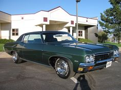 1970 Chevrolet Impala 454 Coupe Hubby ordered and drove  an Impala like this till 1987