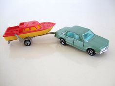SEDAN & BOAT - MAJORETTE by RMJ68, via Flickr