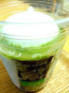 抹茶フローズンラテ@ローソン matcha frozen latte