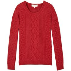 Vanessa Bruno Athé Cable Knit Jumper found on Polyvore